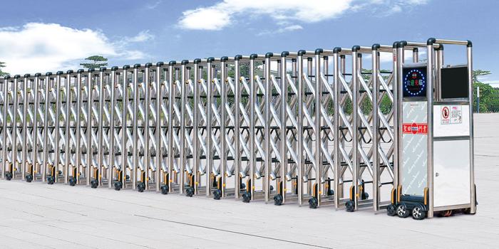 Báo giá thi công lắp đặt cửa cổng xếp inox tự động tại Bình Định