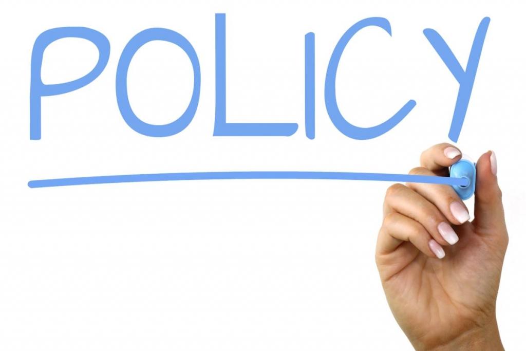 Chính sách điều khoản và quy định