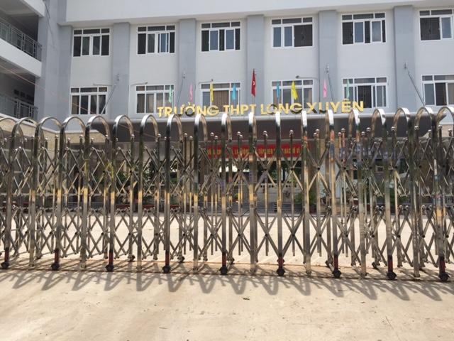 Tân Thành Long thi công công trình tại trường THPT Long Xuyên