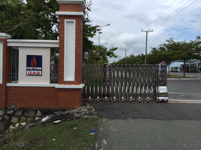 Thi Công công trình cổng xếp cho công ty dầu khí tại Bà Rịa Vũng Tàu